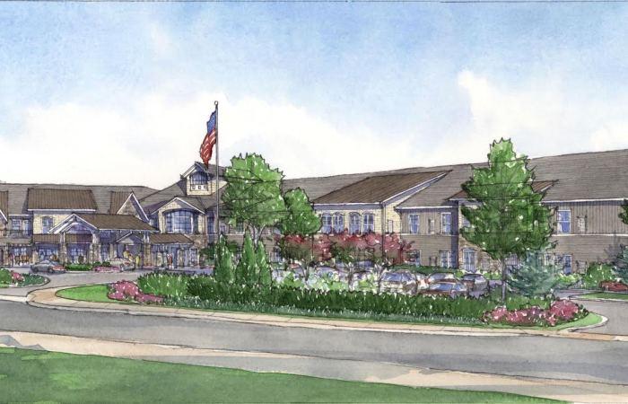 Front entrance rendering