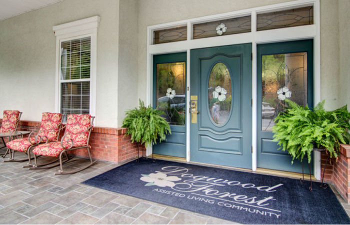 Front door and entrance
